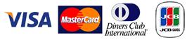 クレジットカード決済お取り扱いカード